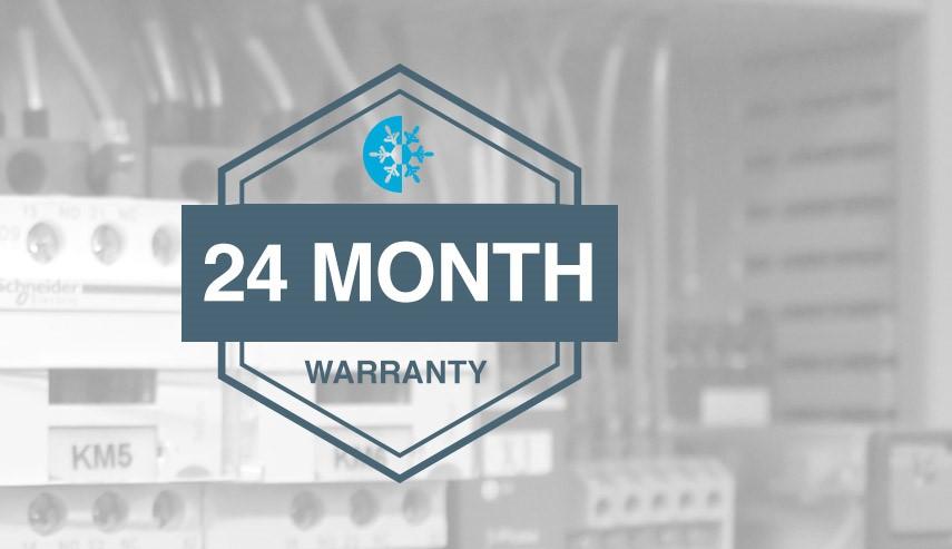 24 month warranty